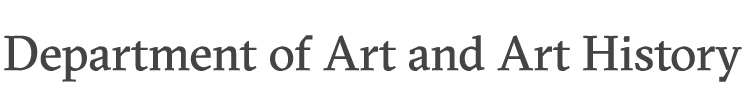 Art and Art History wordmark
